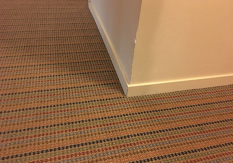 Old carpet at Optima Camelview Village